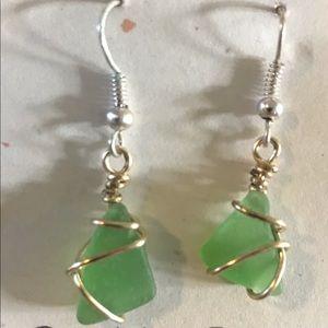 Lehua Moon Creations Glass Earrings